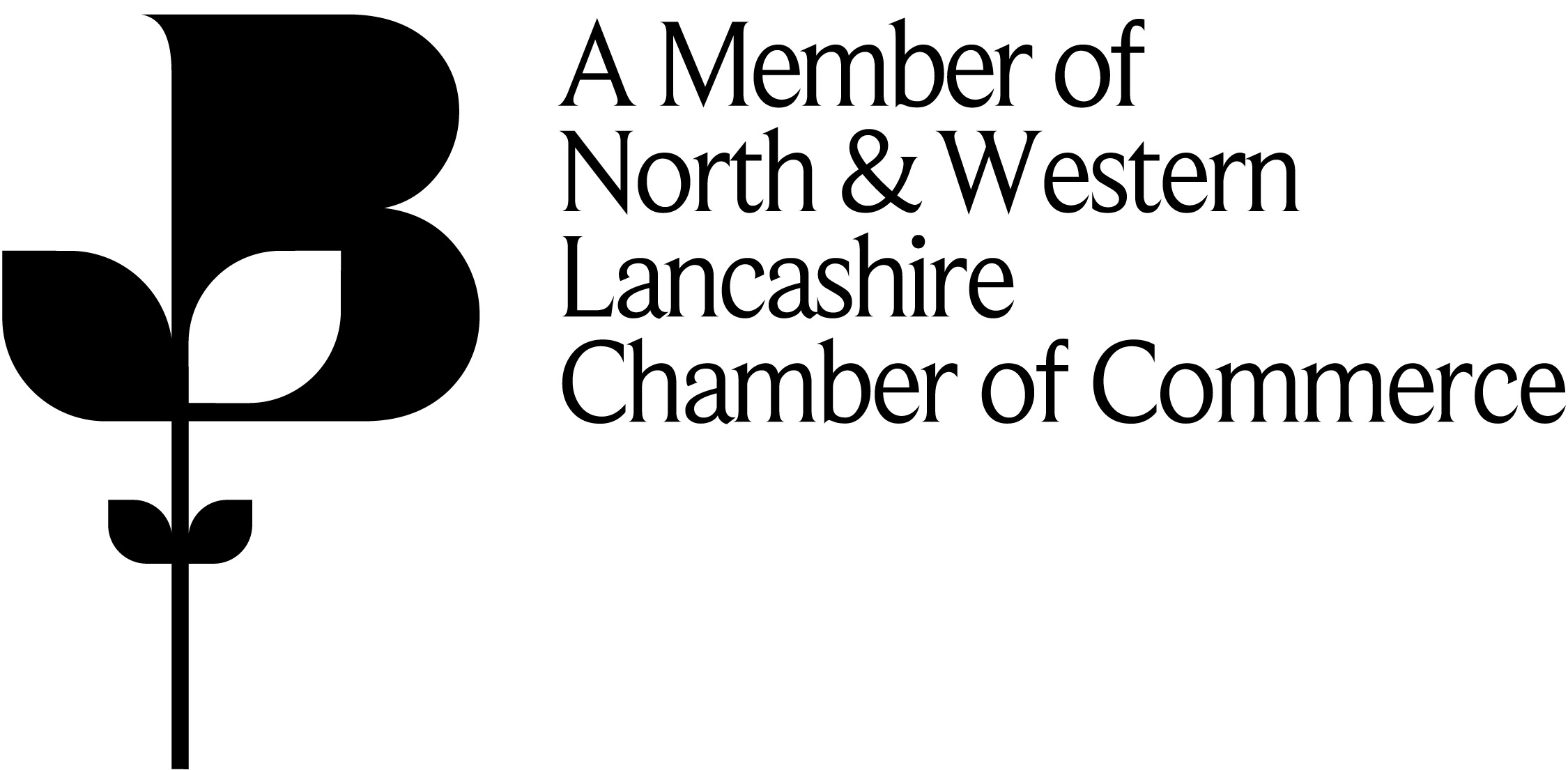 A member logo of the Chamber of Commerce North & Western Lancashire